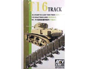 AFV CLUB 35019 1:35 M3 Stuart Early T-16 Track (workable)