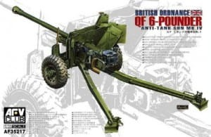 AFV CLUB 35217 1:35 QF Mk.IV 6-Pdr British Anti-tank Gun (Late version)