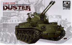 AFV CLUB 35192 1:35 M42A1 DUSTER Early Type