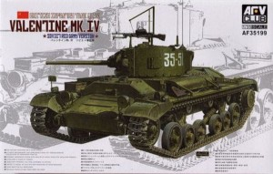 AFV CLUB 35199 1:35 Valentine Mk IV Soviet Red Army Version