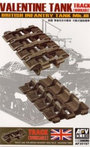 AFV CLUB 35197 1:35 Valentine Tank track (workable)
