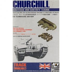 AFV CLUB 35183 1:35 CHURCHILL TRACK /WORKABLE