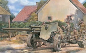 AFV CLUB 35181 1:35 U.S. Army 3 inch Gun M5 on Carriage M6