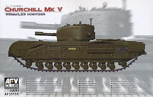 AFV CLUB 35155 1:35 Churchill Mk.V 95mm Howitzer