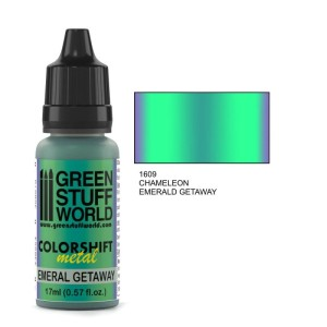 GSW 1609 COLORSHIFT METAL EMERALD GETAWAY 17ml