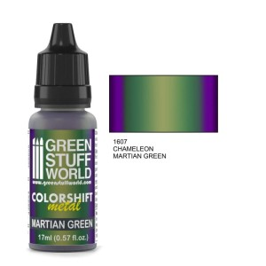 GSW 1607 COLORSHIFT METAL MARTIAN GREEN 17ml