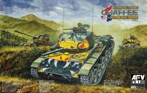 AFV CLUB 35209 1:35 U.S.M24 TANK 'CHAFFEE' KOREAN WAR