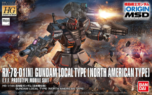 GUNDAM HG 18428 LOCAL TYPE NORTH AMERICA