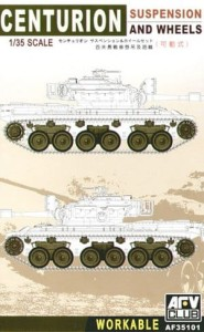 AFV CLUB 35101 1:35 Centurion workable suspension