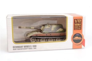 MODELCOLLECT AS72124 WWII E-100 Heavy Tank with Krupp turret