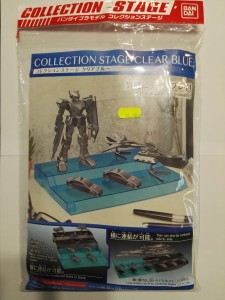 BANDAI 21051 COLLECTION STAGE CLEAR BLUE