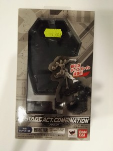 BANDAI 96842 STAGE ACT COMBIN. BLACK