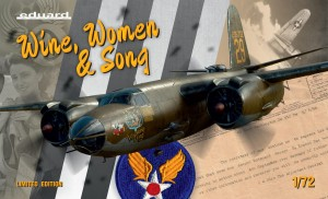 EDUARD 2129 1:72 B-26 WINE, WOMEN & SONG