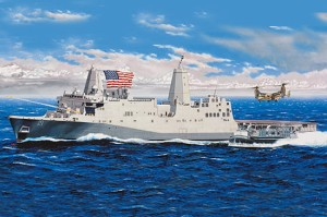 TRUMPETER 05616 1:350 USS New York (LPD-21)