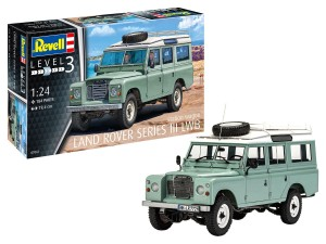 REVELL 07047 1:24 LAND ROVER III LWB