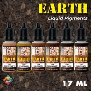 GSW 10128 Liquid Pigments Set - Earth