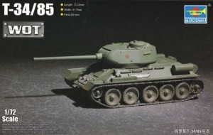 TRUMPETER 07167 1:72 T-34/85