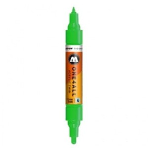 MOLOTOW ONE4ALL TWIN 222 KACAO77 GREEN (1,5 mm + 4 mm)