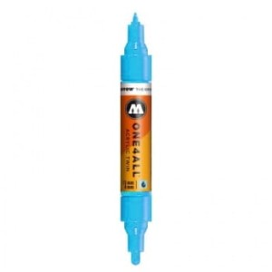 MOLOTOW ONE4ALL TWIN 161 SHOCK BLUE (1,5 mm + 4 mm)