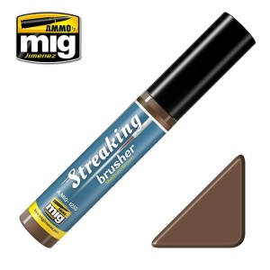 AMMO 1250 STREAKING BRUSHER MEDIUM BROWN 10ml