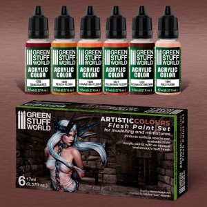 GSW 10117 Paint Set - Flesh