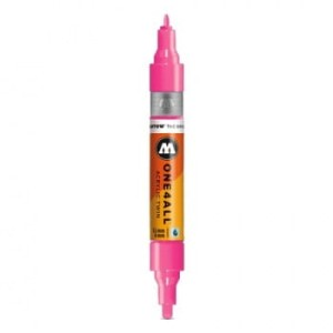 MOLOTOW ONE4ALL TWIN 200 NEON PINK (1,5 mm + 4 mm)