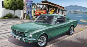 REVELL 07065 1:24 Ford Mustang 1965 2+2 Fastback