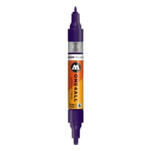 MOLOTOW ONE4ALL TWIN 043 VIOLET DARK (1,5 mm + 4 mm)