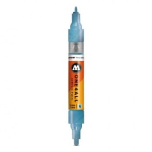 MOLOTOW ONE4ALL TWIN 224 METALLIC BLUE (1,5 mm + 4 mm)