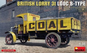 MINIART 38027 1:35 Lorry LGOC 3t B-Type