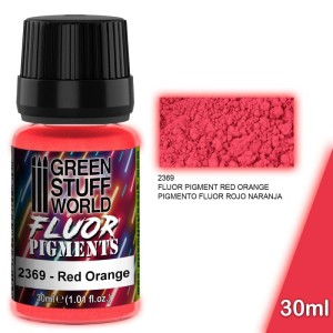 GSW 2369 PIGMENT FLUOR RED ORANGE (30ml)